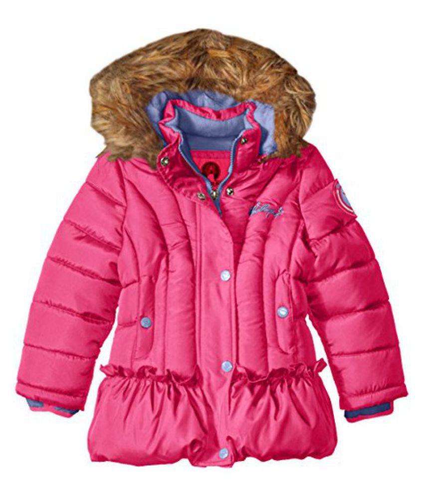 Weatherproof Girls' Bubble Jacket with Peplum Bubble Hem