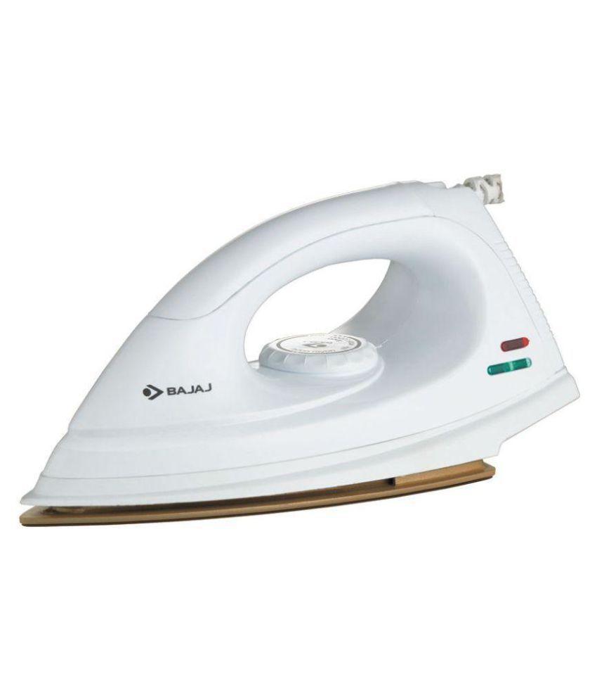 Bajaj DX 7 Dry Iron White