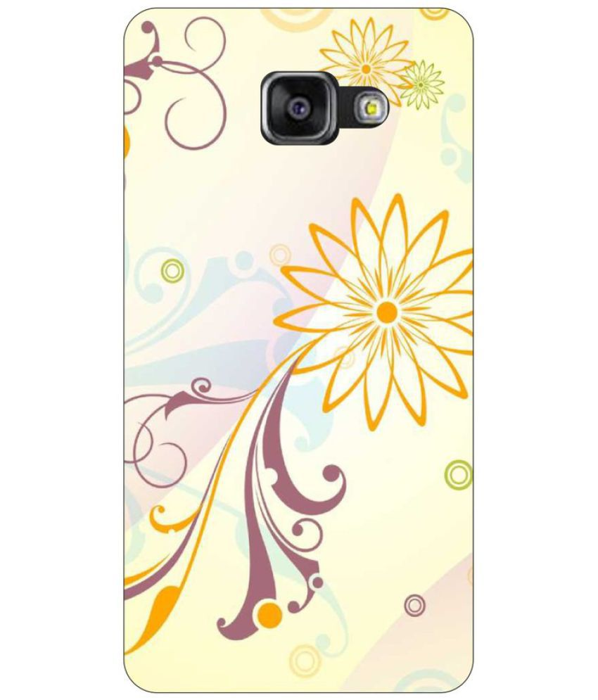 Samsung Galaxy A3 (2017) Printed Cover By Go Hooked