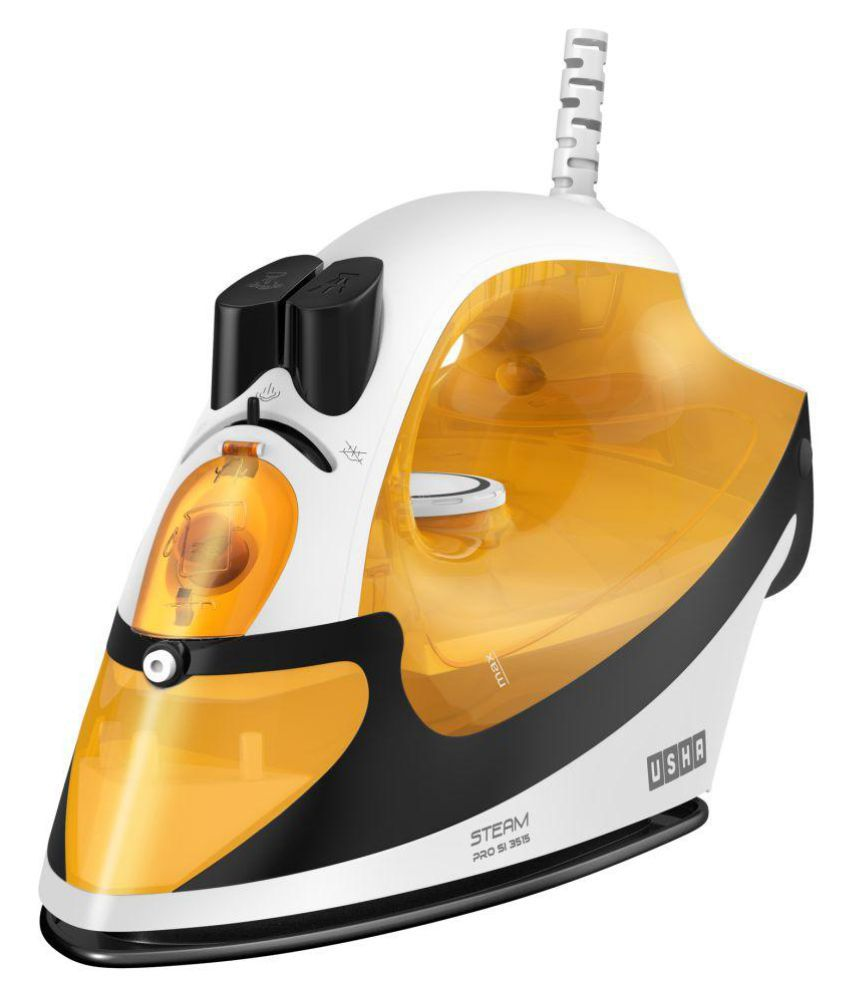 Usha SI 3515 Mustard Yellow Steam Iron Mustard Yellow