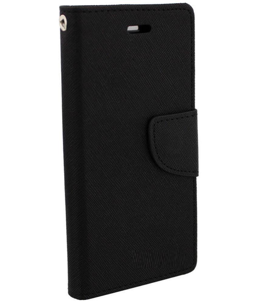 Sony Xperia Z1 Flip Cover by RJR - Black