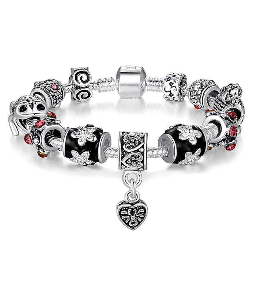 Allthingscharmed Looking for Prince Charming: Silver Pandora Style Charm Bracelet
