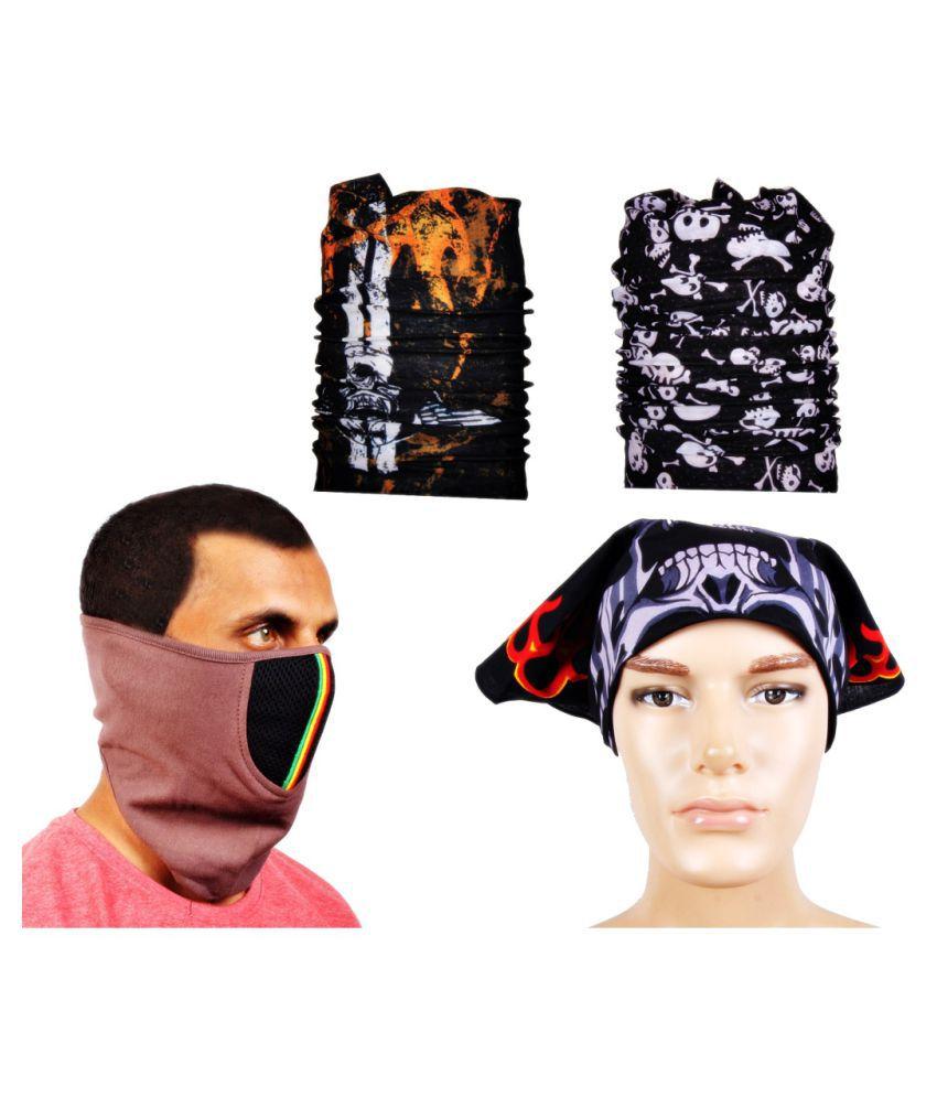 Sushito Multi Printed Polyester Headwraps