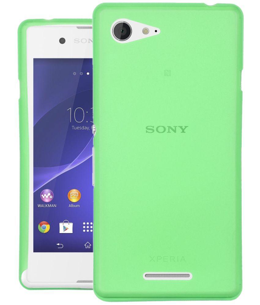 Sony Xperia E3 Plain Cases CUBIX - Green