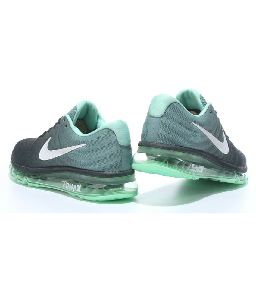 ... Nike Air Airmax 2017 Green Running Shoes ...