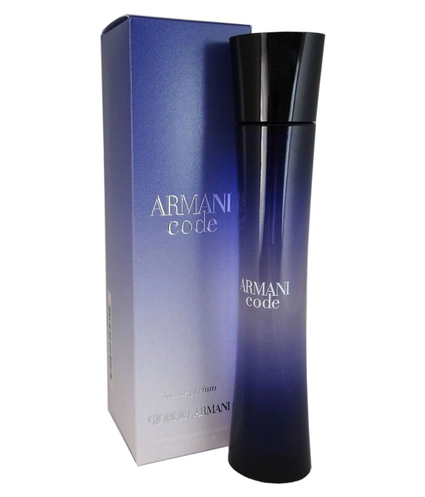 Armani Perfume Code For Women 75ml Buy Online At Best Prices In