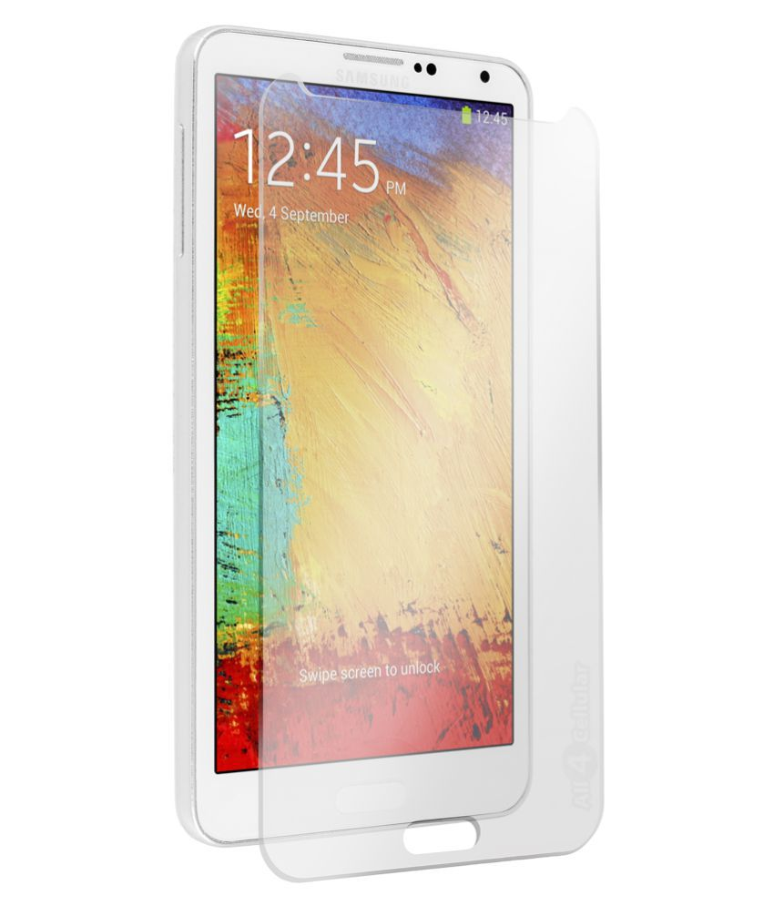 Samsung Galaxy Note 2 Tempered Glass Screen Guard By AaroGlobal