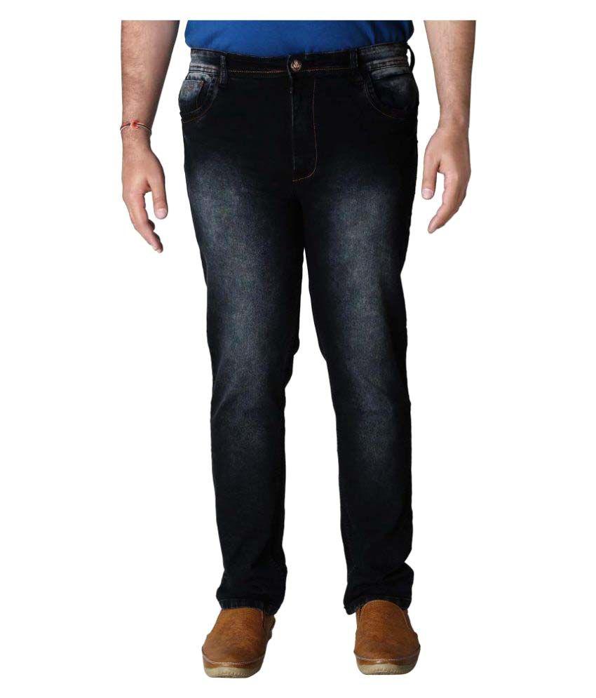Prankster Black Relaxed Jeans
