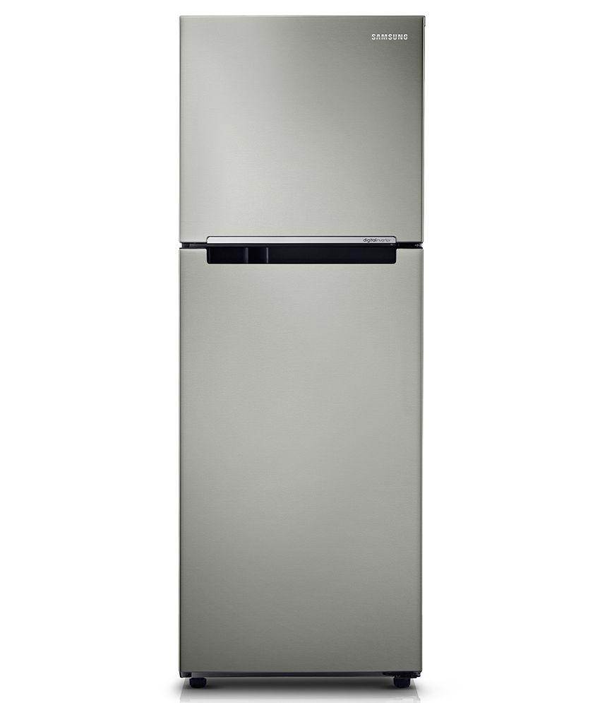 Samsung 251 Ltr 3 Star RT28K3083S9 Frost Free Double Door Refrigerator Refined Inox