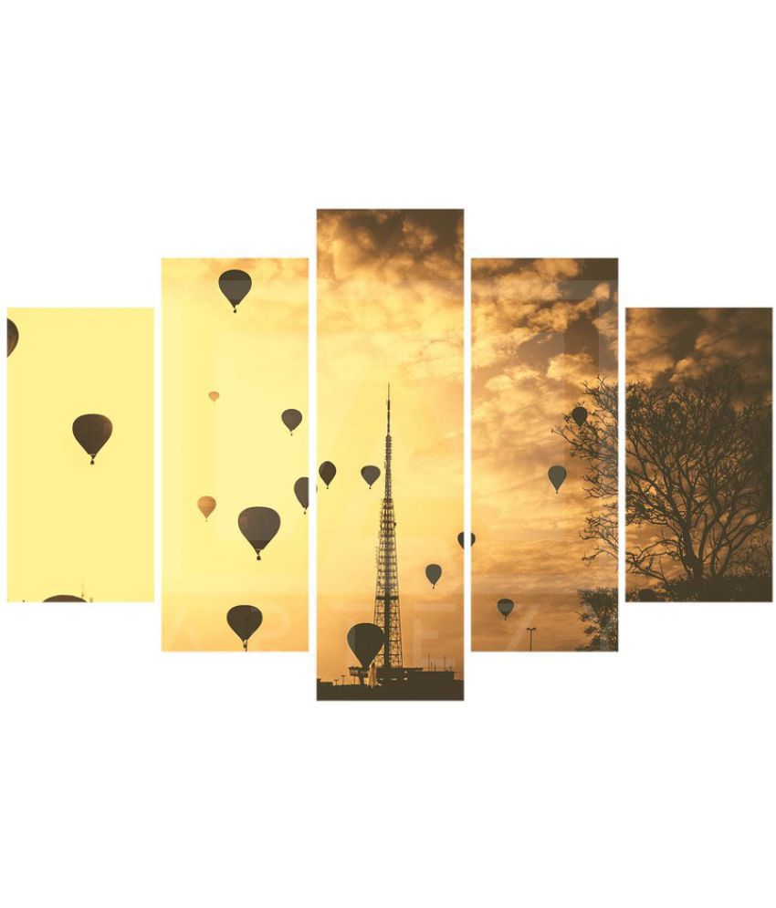 Next Up Canvas Painting Without Frame Set of 5