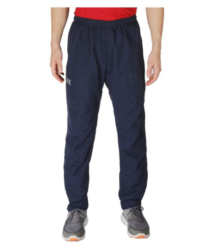 Vector X Blue Polyster Track Pant