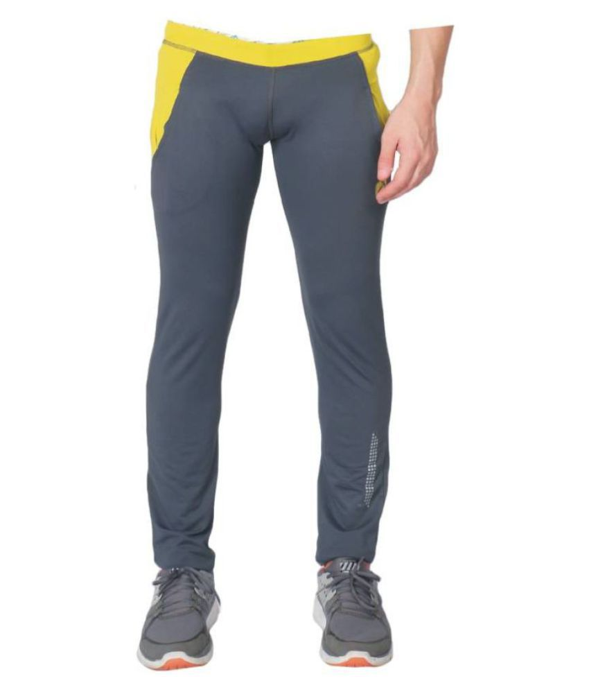 Vector X VLF-2500-A Solid Women's Grey Track Pants