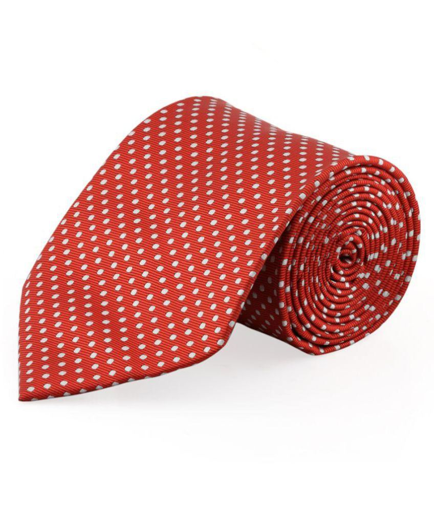 14c8f8ba383a9 Maruti Tie Red Formal Necktie  Buy Online at Low Price in India - Snapdeal