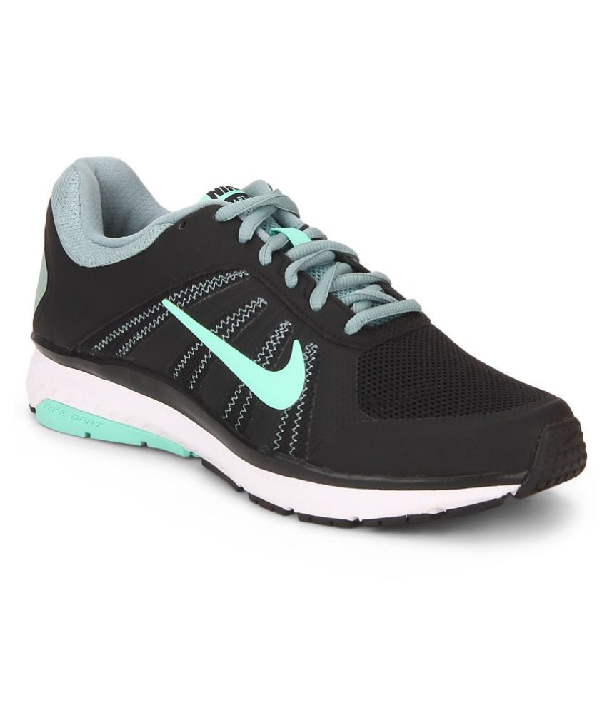 Nike WMNS DART 12 MSL Black Running Shoes Price in India- Buy Nike WMNS DART 12 MSL Black Running Shoes Online at Snapdeal