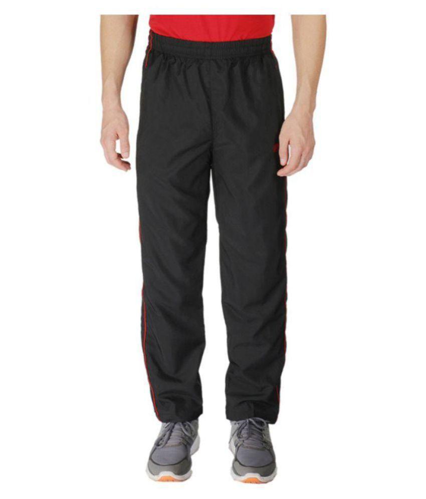 Vector X VL-550-D Solid Men's Black Track Pants