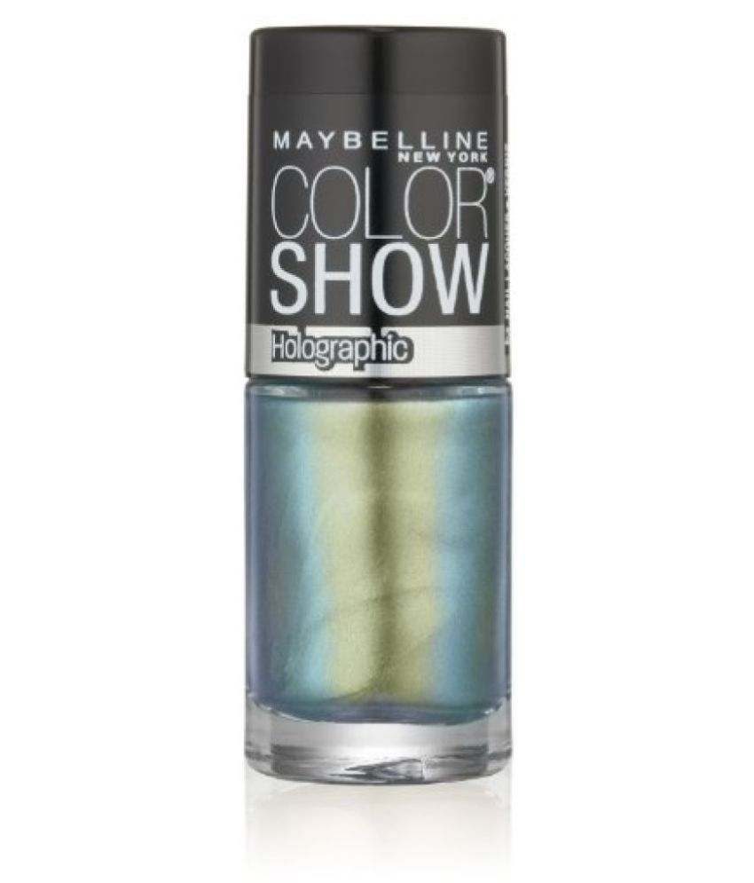 Maybelline New York Color Show Nail Lacquer, Mystic Green, .23 Fluid Ounce