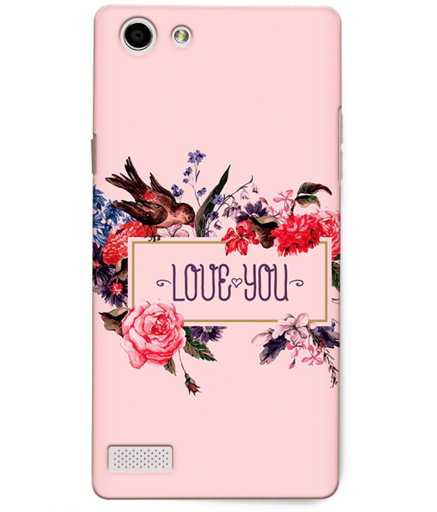 Oppo Neo 7 Printed Cover By CRAZYINK