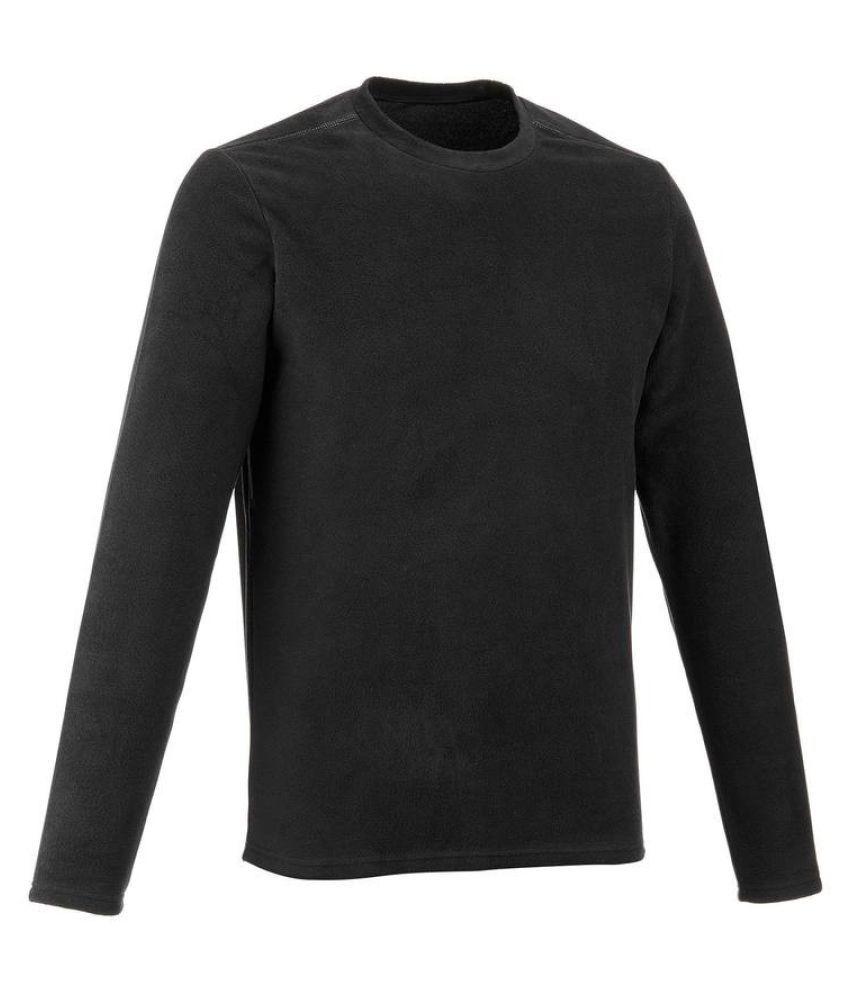 Quechua Black Polyster Sweatshirt