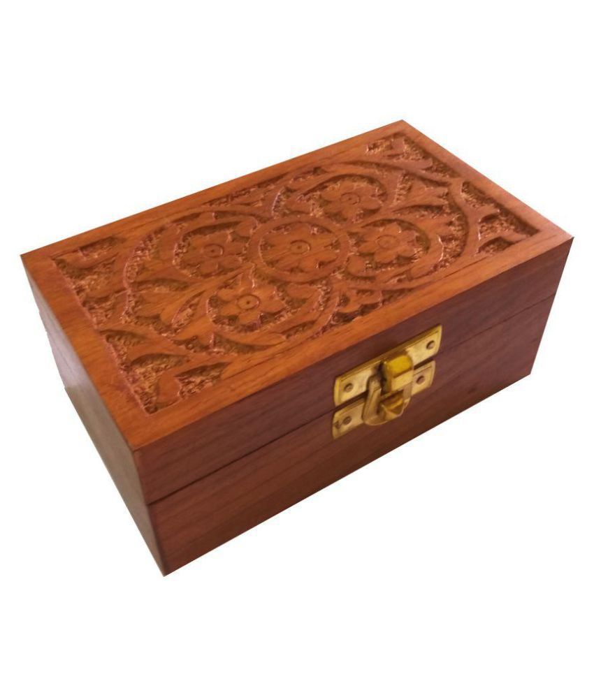 Craft Art India Wooden Jewellery Box