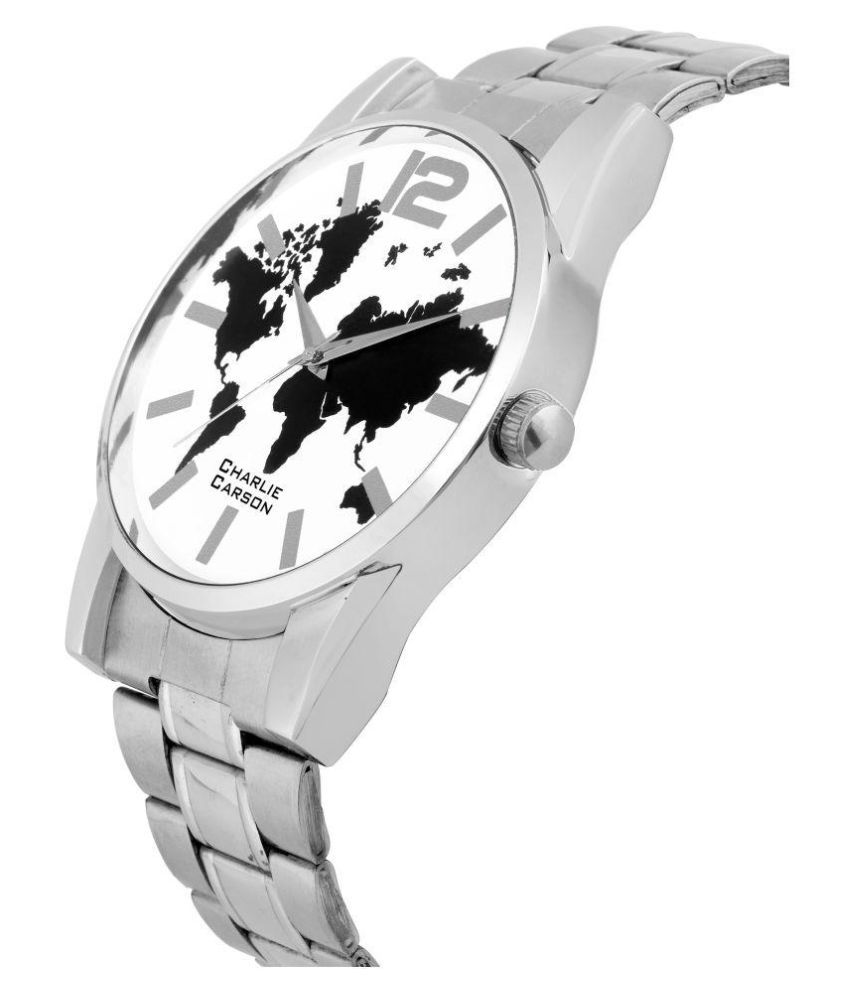 Charlie carson world map dial analog watch buy charlie carson charlie carson world map dial analog watch gumiabroncs Gallery