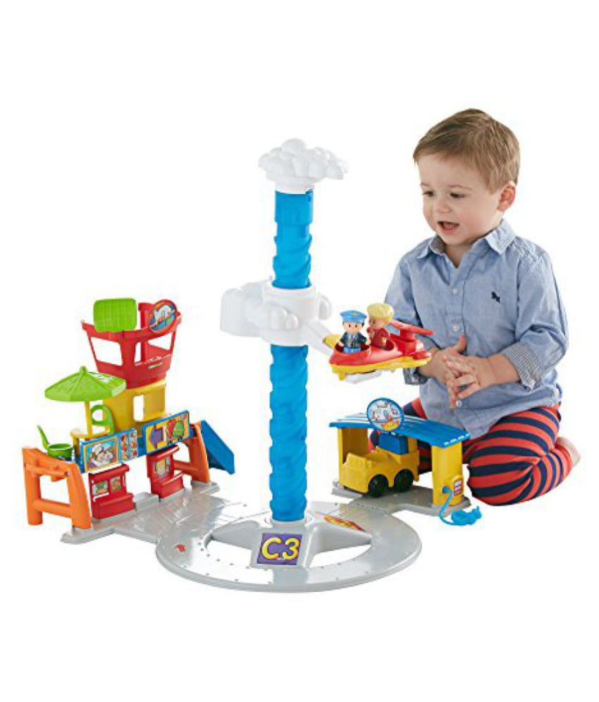 Fisher-Price Little People Spinnin Sounds Airport