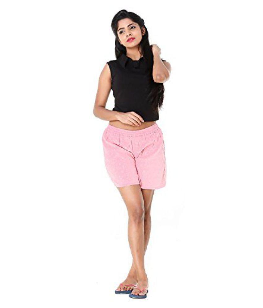 2fc6eae01a ... Twist Womens / Girls Funky Printed Comfort Night Wear Shorts ...