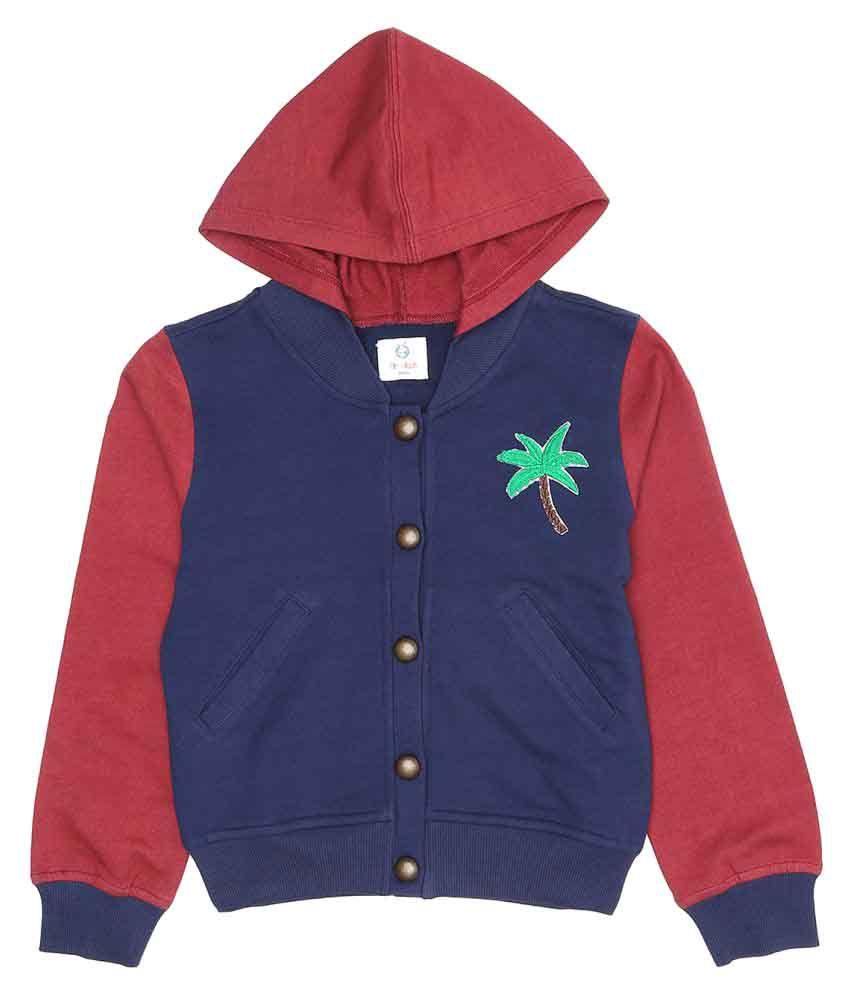 Orgaknit Multicolour Cotton Jacket