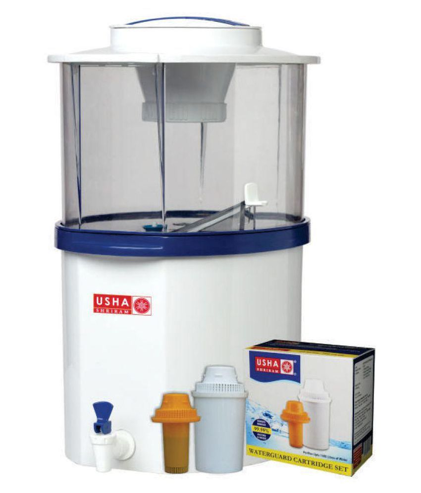 Uncategorized Non Electric Kitchen Appliances usha shriram non electric water guard 20 ltr gravity purifier