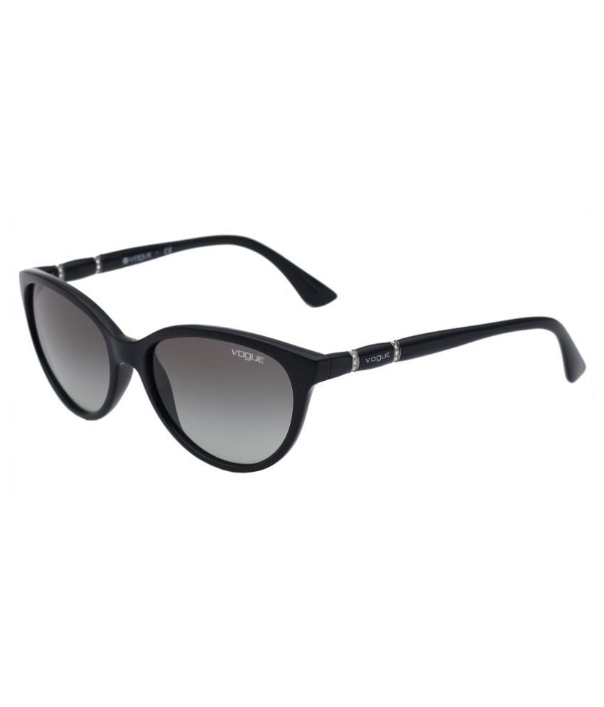 VOGUE VO2894-S Black or Purple  Sunglasses Brown
