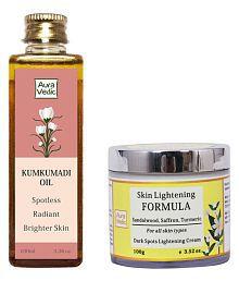 Auravedic Ultimate Skin Brightening & Glow Facial Kit 200 Gm Pack Of 2