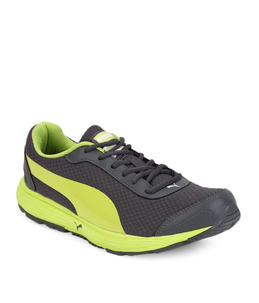 Puma Reef Fashion Dp Gray Running Shoes