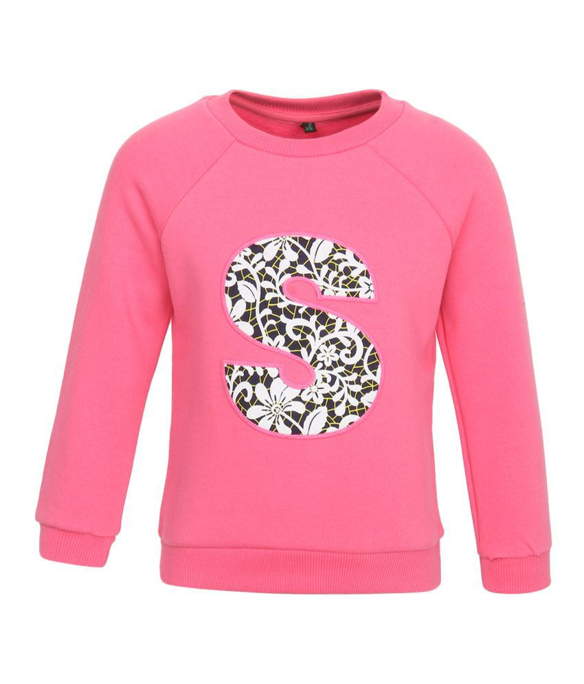 United Colors Of Benetton Pink Sweatshirts