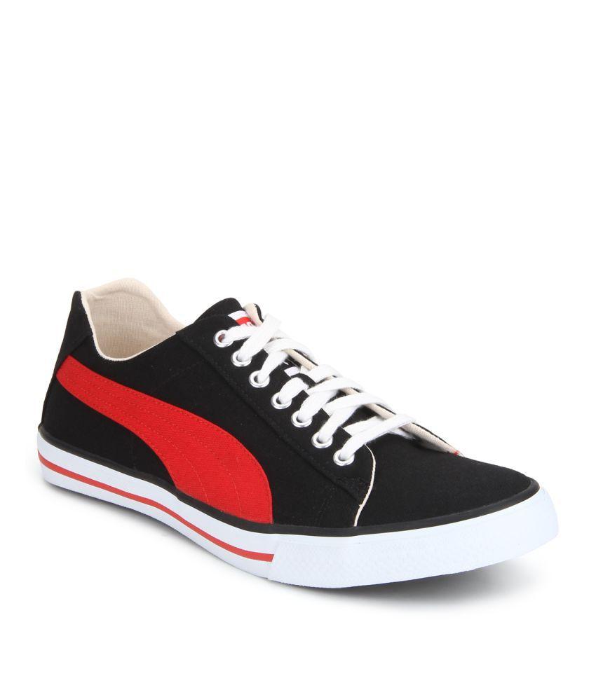 Puma Hip Hop 5 Ind. Black Casual Shoes