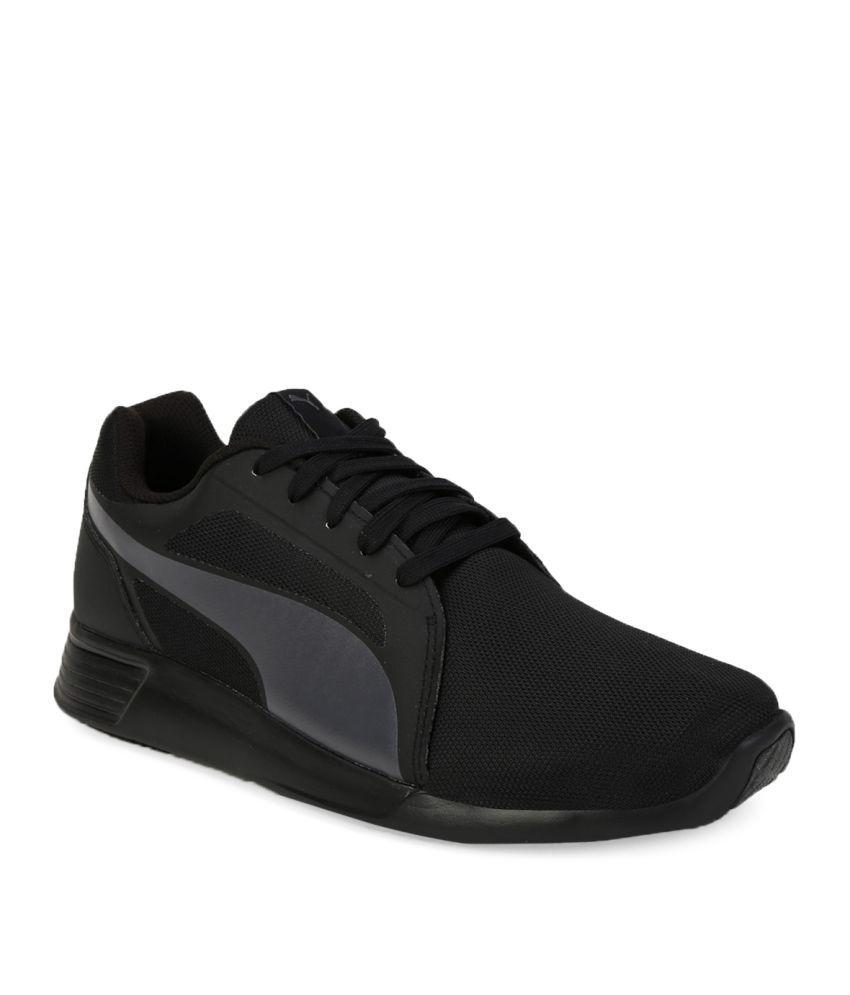 df8af9bcbb3 Puma St Trainer Evo Black Running Shoes - Buy Puma St Trainer Evo ...