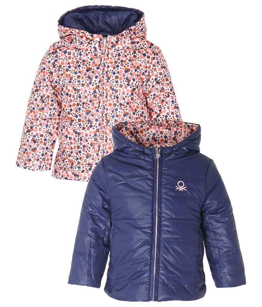 United Colors Of Benetton Multi Color Girls-Jackets