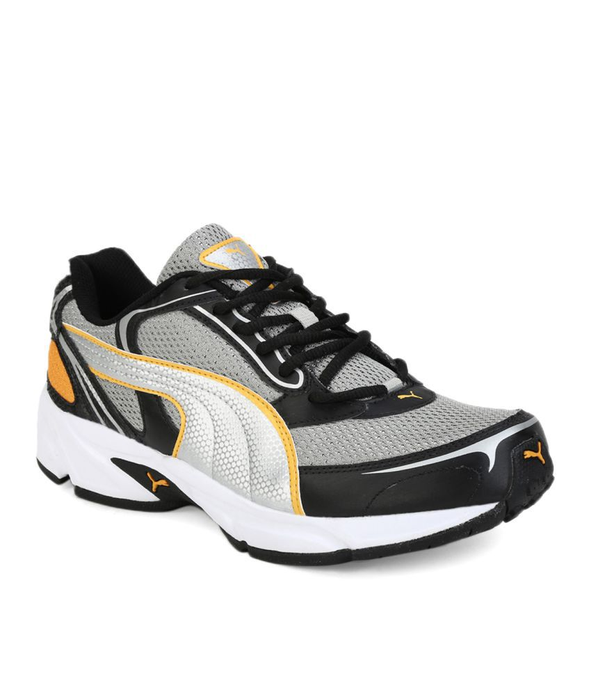 4b55e6637f31 Puma Aron Ind. Gray Running Shoes - Buy Puma Aron Ind. Gray Running ...