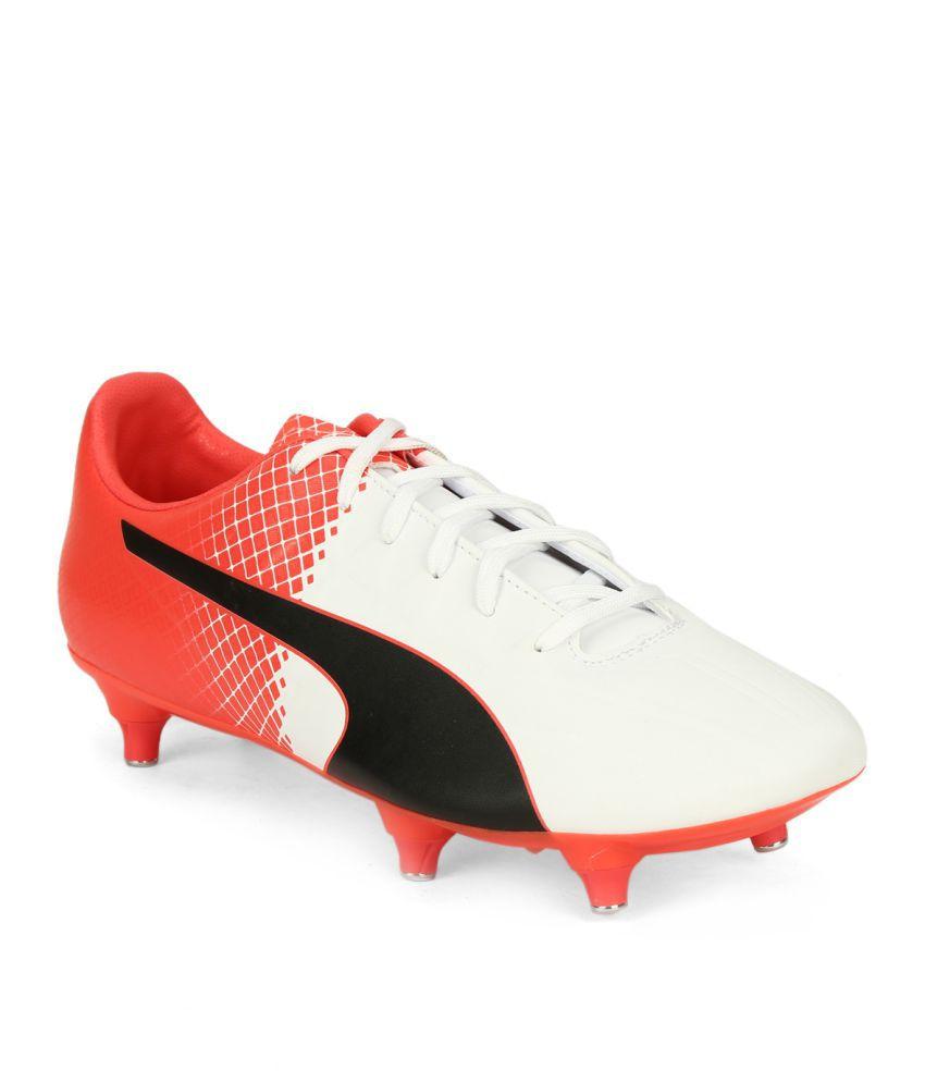 Puma evoSPEED 4.5 SG Black Football Shoes