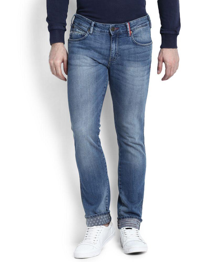 Wrangler Blue Slim Fit Jeans Snapdeal price. Jeans Deals ...