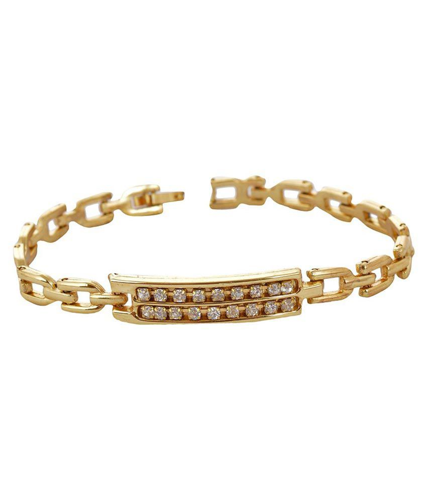 Handicraft Kottage Golden Bracelet