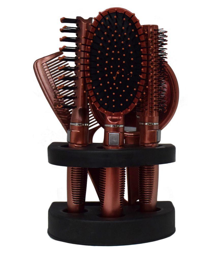 JIAOER Round Hair Brush Pack of 5