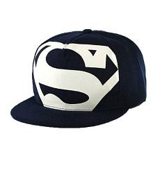 5ce8c2b8e3871 Quick View. FAS Superman Black Printed Cotton Caps