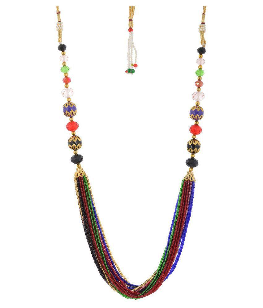 Handicraft Kottage Fashion Jewelry Multicolour Metal Necklace for Women
