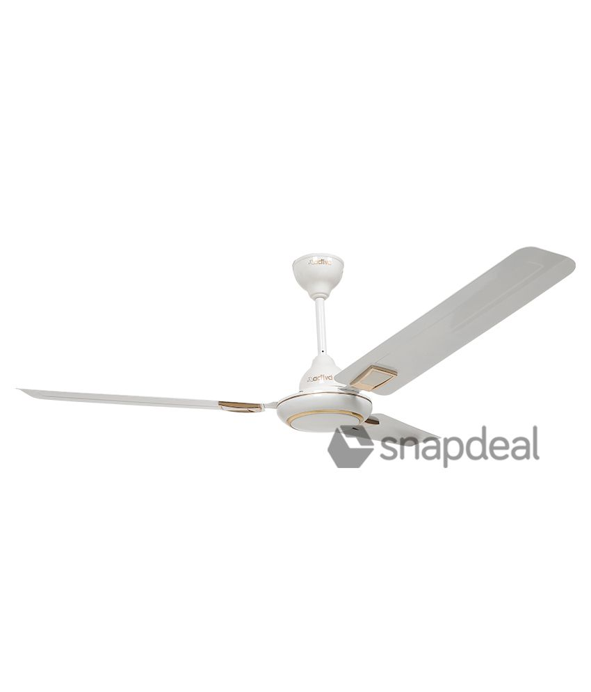 Activa 1200 mm 5 star Galaxy Deco Ceiling Fan-Ivory