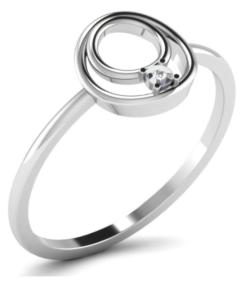 Novel Jewels 92.5 Silver Cubic zirconia Ring