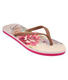 Flipside Pink Slippers