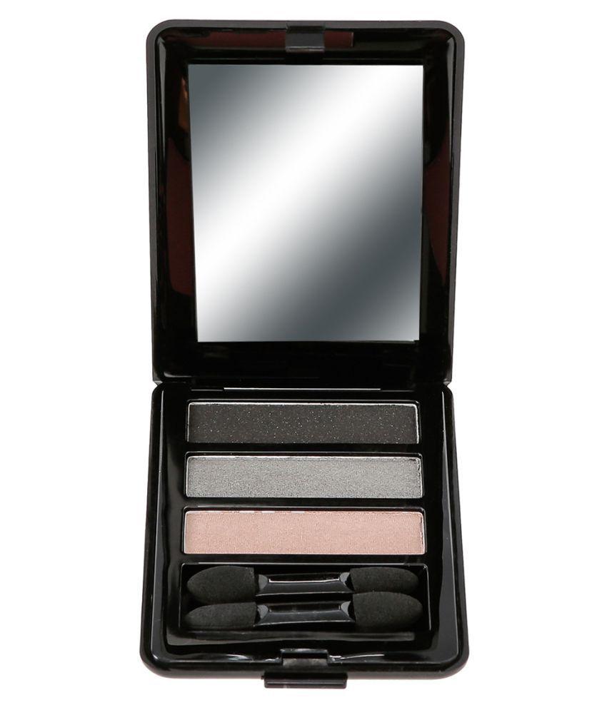 ELEANOR Trio Powder Eyeshadow Eye Shadow Pressed Powder 3 Shade Colours 4.5 gm