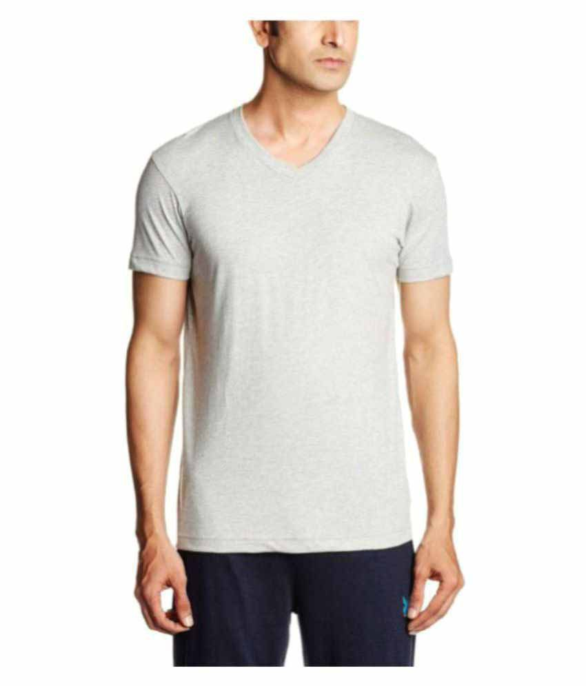 Jockey Grey Cotton T-Shirt Single Pack