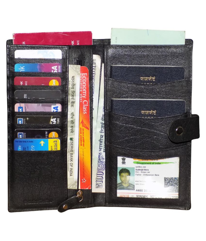 Style 98 Black Wallet