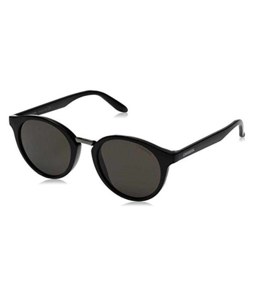 Carrera UV Protected Phantos Unisex Sunglasses - (CARRERA 5036/S D28 49NR|49|Black Color)