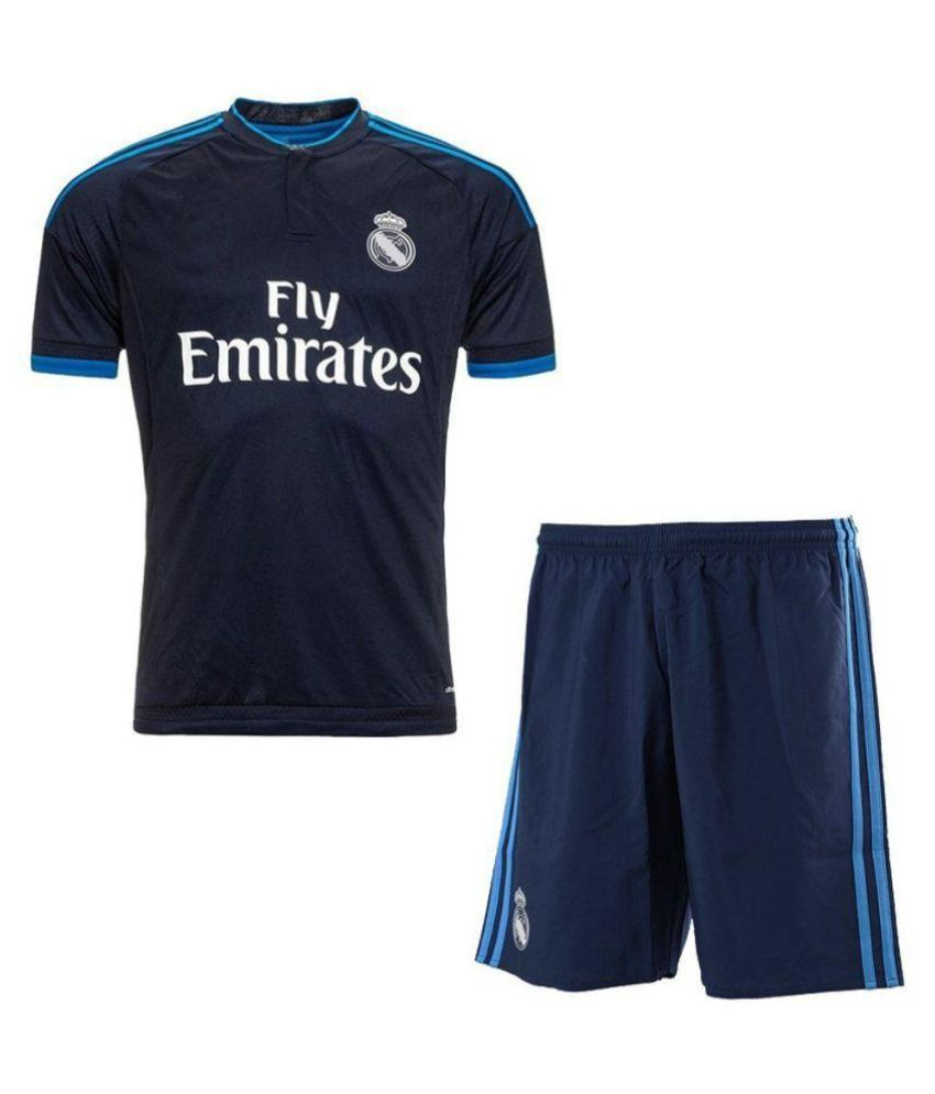 sports shoes 9ce19 33507 Real Madrid Blue Jersey